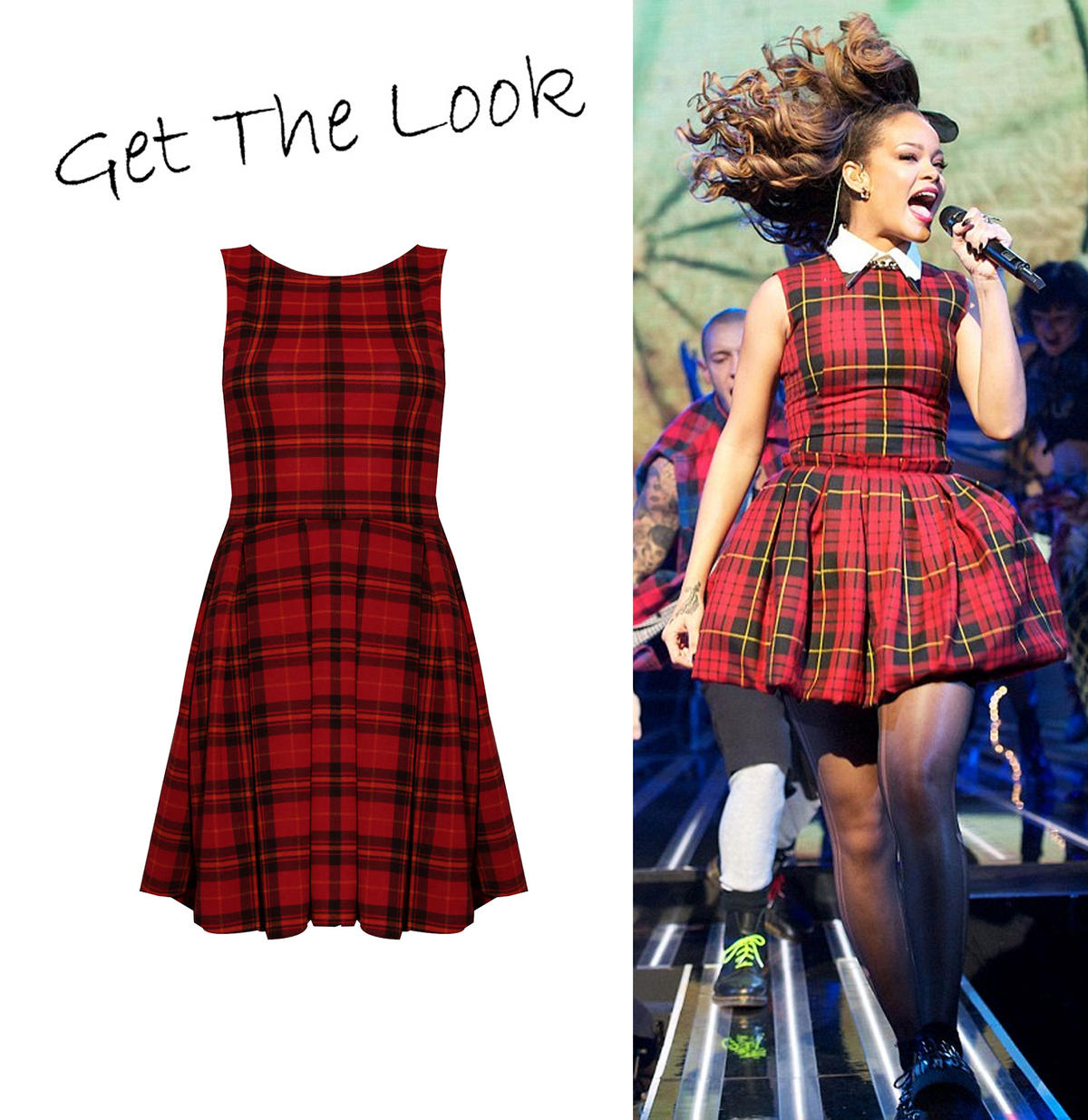 Tartan Skater Dress Preview